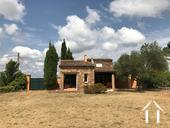 Villa with dominant setting, pool and views