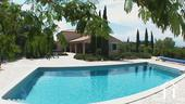 Spacious villa with heated swimming pool and views