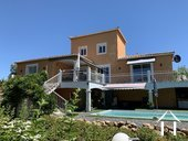 Mediterranean villa with pool and stunning views in Lamalou