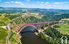 Viaduct Gabarit, Cantal
