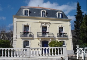 """Detached and renovated """"Maison de Maître"""" with heated pool"""