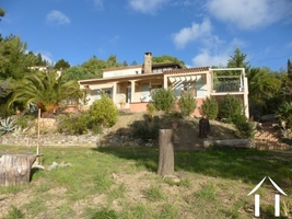 Villa with views over the Orb Valley